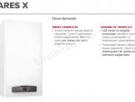 SINIRLI SAYIDA Ariston CARES X 24 FF NG Hermetik Kombi (20.000 kcal/h)