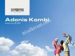 9 TAKSİT Demirdöküm Adonis 24 KW (20.000 Kcal) Bacalı Kombi