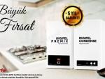 9 TAKSİT Airfel Digifel Condense 24 Kw(Baca Dahil) (20640 Kcal) Yoğuşmalı Kombi