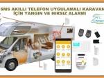 KARAVANLAR İÇİN GPRS & GSM & WIFI & SMS KABLOSUZ AKILLI TELEFONDAN YÖNETİLEBİLİR HIRSIZ ALARM SİSTEMİ