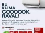 9 TAKSİT Vessen (Montaj Dahil-Daikin) VTXN35B 12.000 Btu A++ Sezonsal İnverter Klima