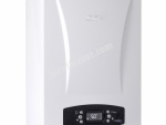 Eca Calora Premix 24KW Yoğuşmalı Kombi        Kapasite24 kW - 20.640 kcal/h Baca tipi Hermetik Eşanjör Çift eşanjörlü Ekran LCD Yakıt tipi Doğalgaz / LPG • 24 kW'lık kapasite seçenekleri •  107,5 verim • Sessiz çalışma (49 dB) • ErP - A enerji veriml
