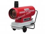 ISIMAK Ec-25 Bacalı Sıcak Hava Cihazı 25.000 Kcal/h      Geniş yakıt deposu hacmi uzun süre yakıt ikmali yapmadan kesintisiz çalışmasına imkan sağlar. Isımak EC serisi ısıtıcılar endirekt tip ısıtıcılardandır, yanma sonucu oluşan baca gazlarını bir ısı eş