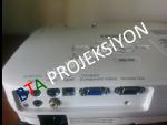 1 YIL GARANTİLİ SIFIR LAMBALI EPSON EB-X9 PROJEKSİYON _ KUMANDA+POWER+VGA