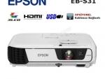1 YIL GARANTİLİ SIFIR LAMBALI EPSON EB-S31 PROJEKSİYON _ HDMI _ USB_ HEMEN KARGO